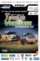 25ème Rallye National Terre de Vaucluse